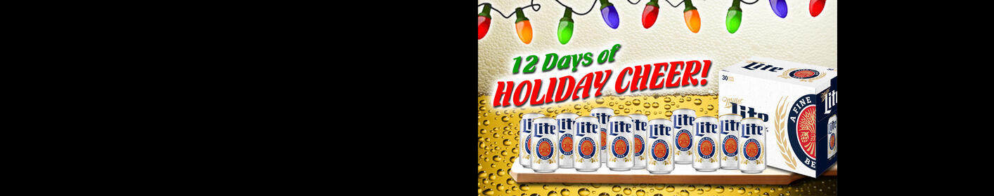 The Bearman and Keith & Miller Lite are giving you '12 Days of Holiday Cheer'! LISTEN TO WIN!