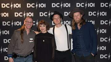 DC101 Office Party - The Lumineers Meet and Greet At DC101 Office Party 2017