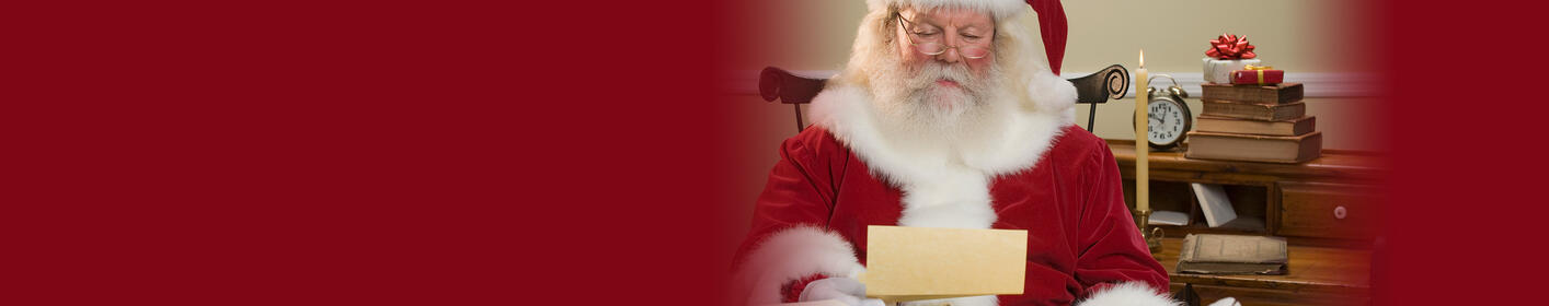 Write Your Letter To Santa!