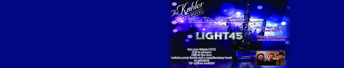 Win the Ultimate Kahler Grand Hotel NYE Bash Package!