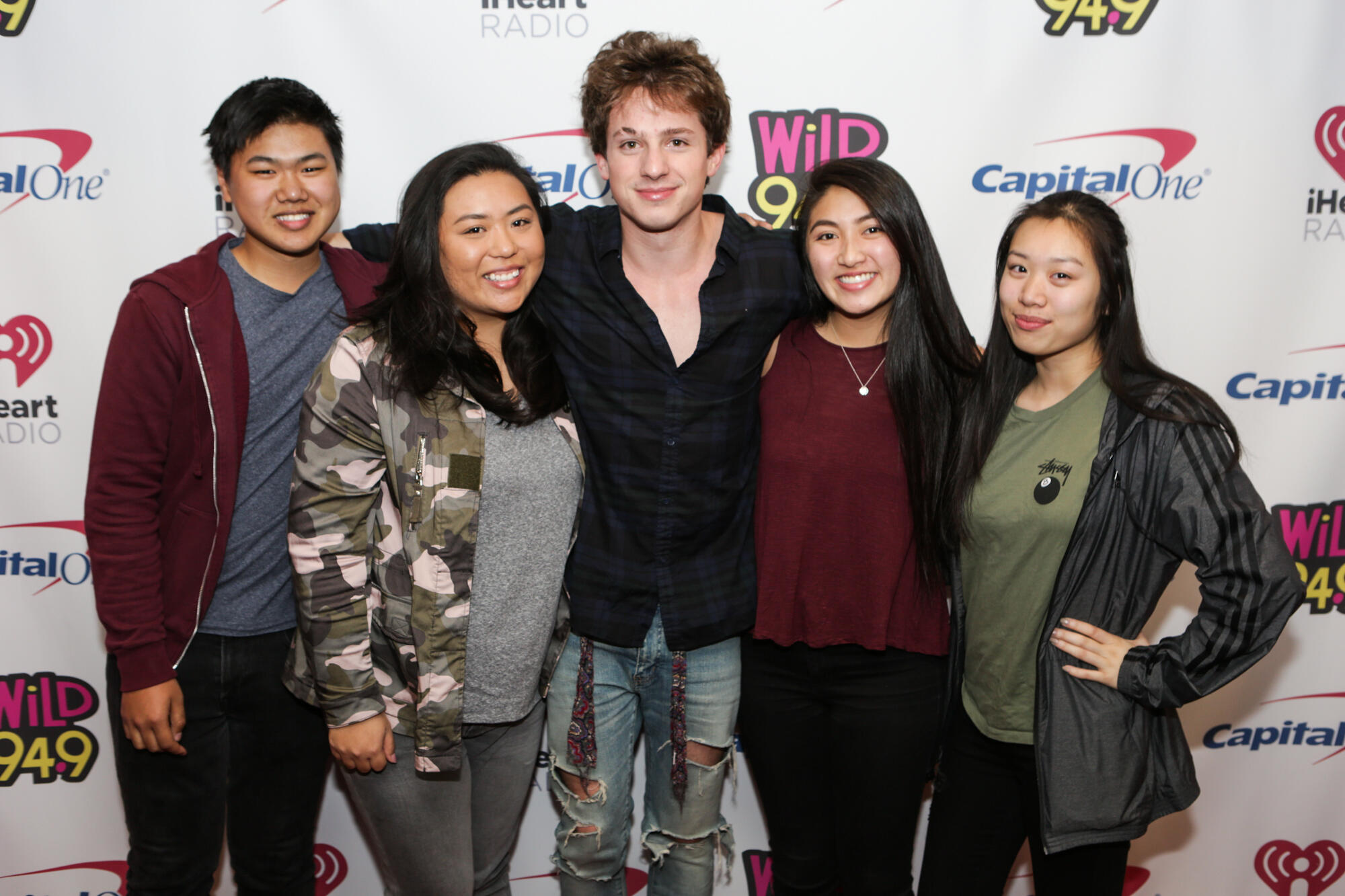 Charlie puth meet and greet at jingle ball wild 949 kristyandbryce Choice Image
