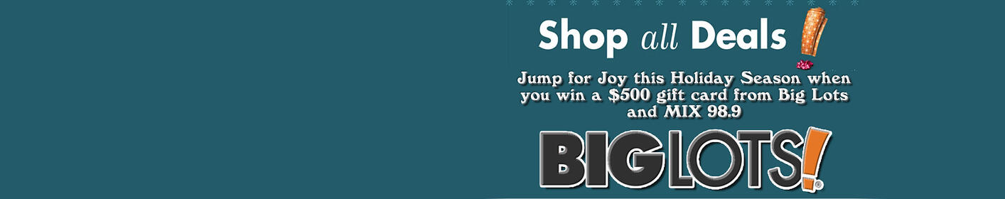 Register to win $500 from BIG LOTS!