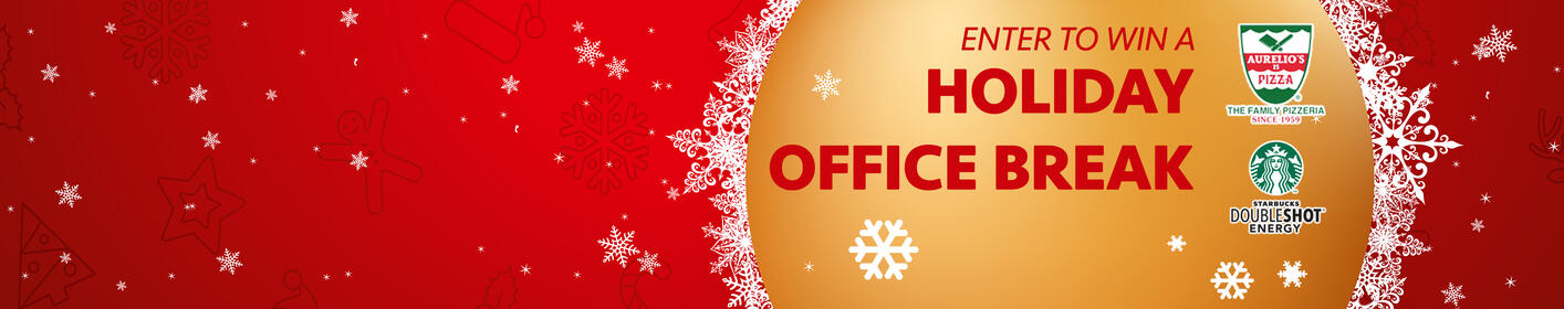 Enter to win a LITE FM Holiday Office Break