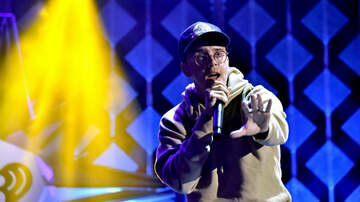Jingle Ball - Logic 'Decks The Halls' During iHeartRadio Jingle Ball With Speedy Bars