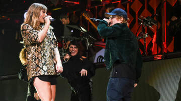 Junior - Ed Sheeran Joined T Swift On Stage In LA!
