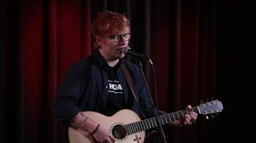 Photos - Ed Sheeran in the Star 101.3 VIP Lounge 12.2.17