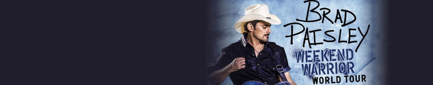 Brad Paisley Is Coming To Verizon Arena on April 12th!