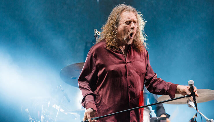 """Robert Plant Tells Zeppelin Fans to """"Stop Dwelling on That Old Crap""""   iHeartRadio"""