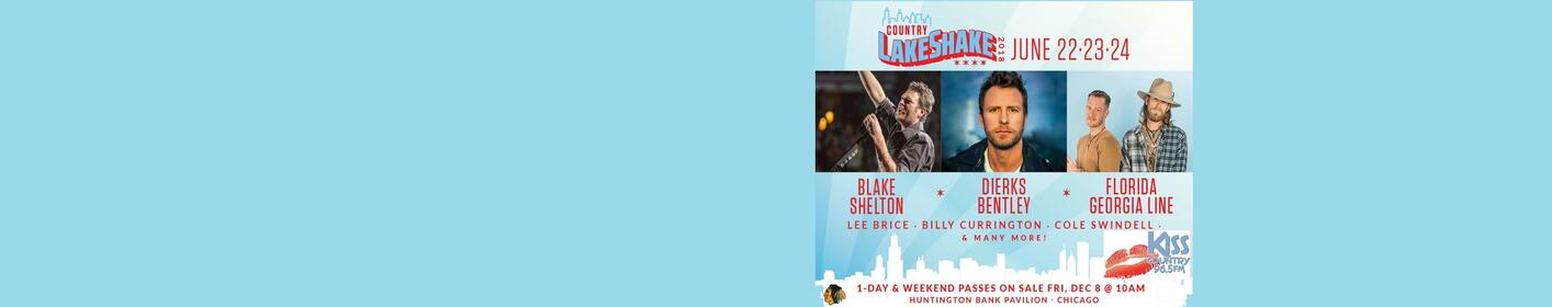 Register to Win Your Country LakeShake Concert Tickets!