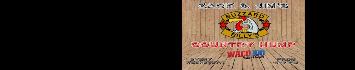 Country Hump with Zack & Jim | 5pm-7pm at Buzzard Billy's Every Wednesday