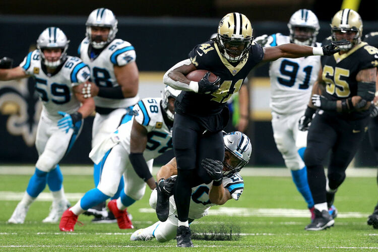 New Orleans Saints Alvin Kamara Getty Images