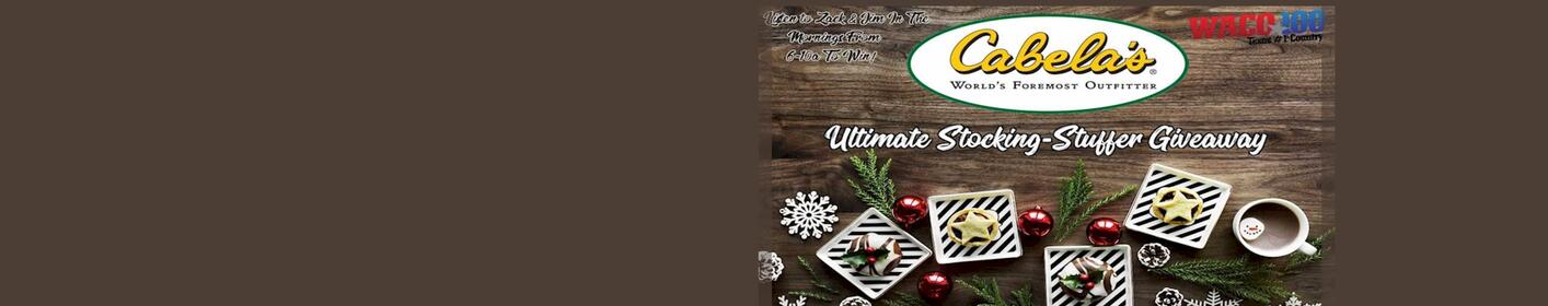 CABELA'S ULTIMATE STOCKING STUFFER | Enter here to win a Cabela's gift card!
