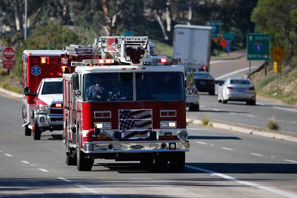Fire Risk High As Santa Ana Winds Blow Through San Diego