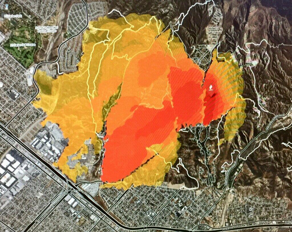 Creek Fire Near Sylmar Expands To 11 000 Acres Kfi Am 640