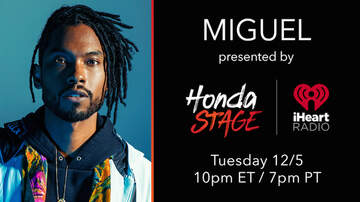 None - Miguel Album Release Party LIVE on the Honda Stage: How To Stream the Show