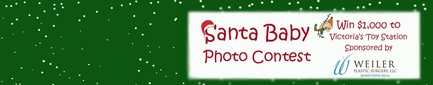 Click here to enter our Santa Baby photo contest!