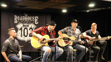 The K102 Roadhouse - PHOTOS: James Barker Band in the K102 Roadhouse