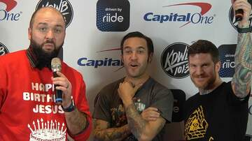 Jingle Ball - WATCH: Steve-O Talks Packers vs. Vikings with Fall Out Boy
