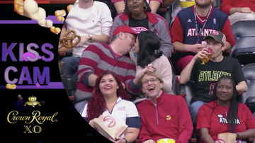 Keith Allen - Man Next To Kiss Cam Couple Does Something Disgusting