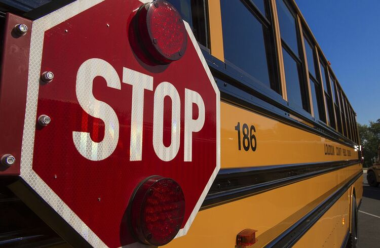 School Bus Stop Sign Getty Images
