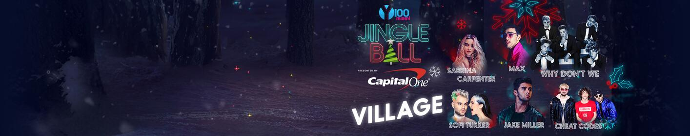 Our FREE #Y100JingleBall Village concert just announced!