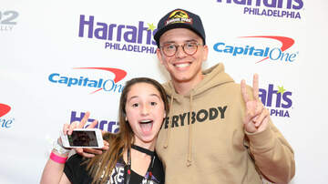 Jingle Ball - Logic Meet + Greet Pics @ Q102 Jingle Ball