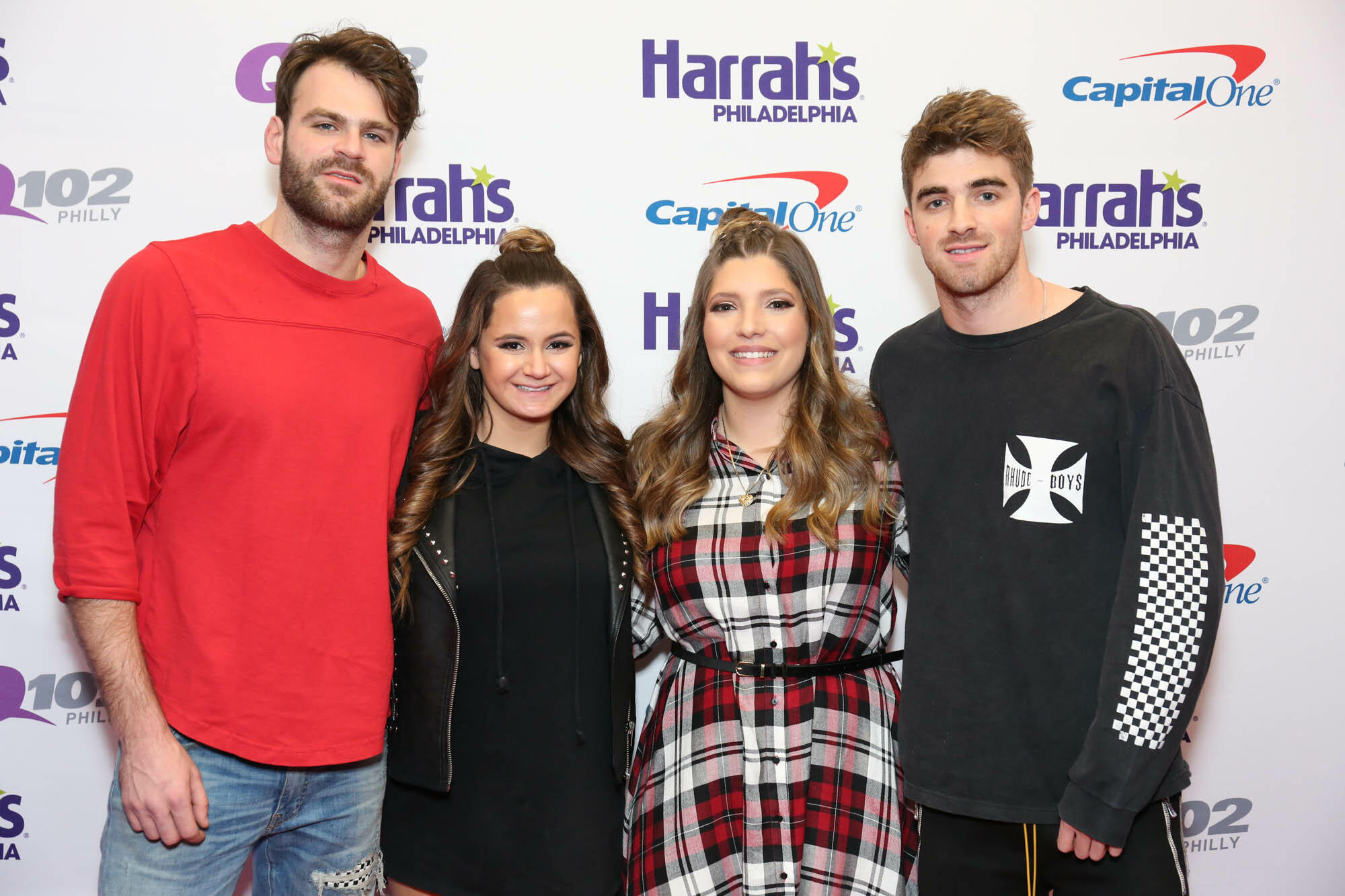 Meet and greet q102 the chainsmokers meet greet pics q102 jingle ball dec 06 2017 kristyandbryce Image collections