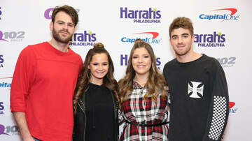 Jingle Ball - The Chainsmokers Meet + Greet Pics @ Q102 Jingle Ball