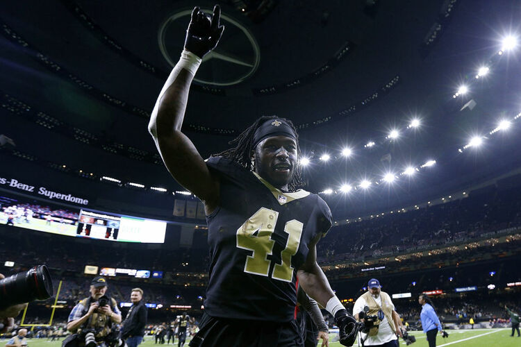 New Orleans Saints Alvin Kamara Getty