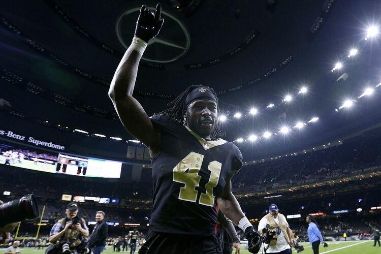 New Orleans Saints Alvin Kamara Getty