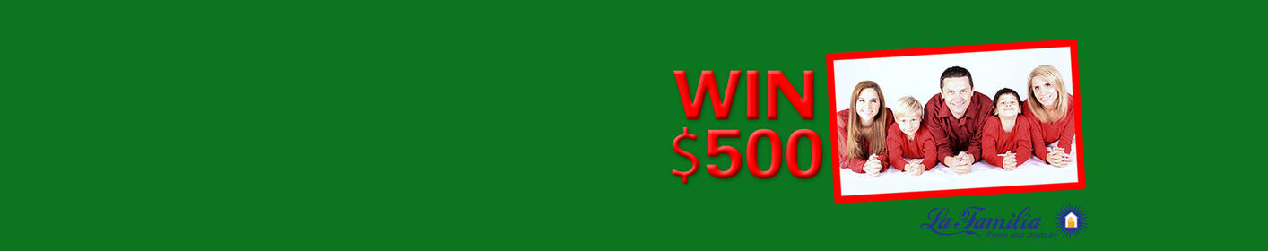 Upload your Christmas Card to win $500!