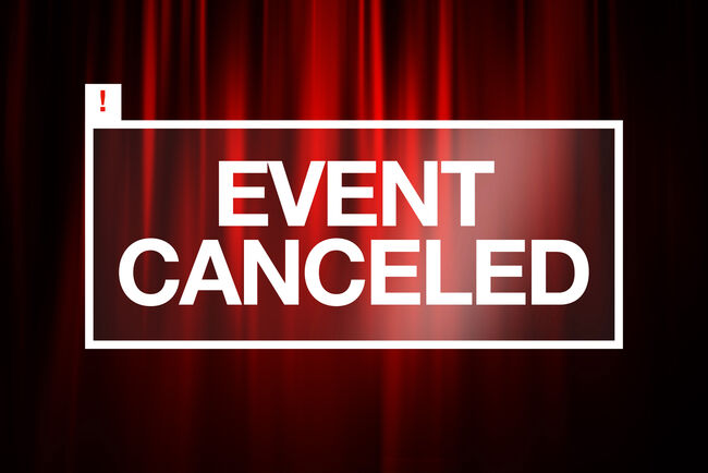 Event Canceled Getty RF