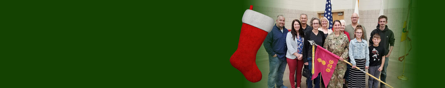 Stockings for Soldiers: Donate items or cash to help our troops!