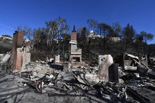 Skirball Fire Burns 475 Acres, Destroyed 4 Homes, Damages 12 Others