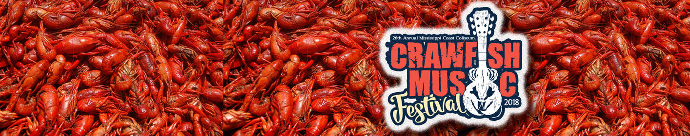 26th Annual Crawfish Music Festival Lineup Announcement