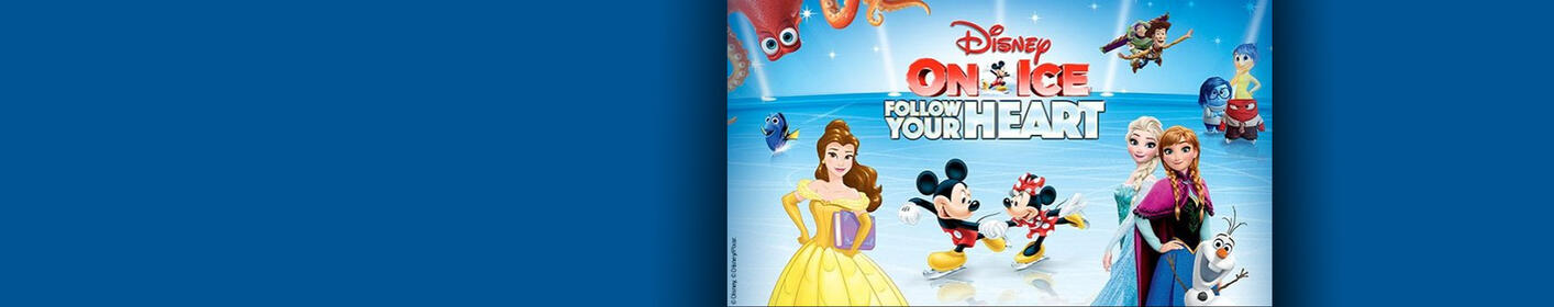 Win Disney on Ice: Follow Your Heart Tickets