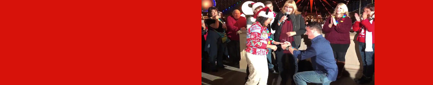 We Celebrated #KOSTChristmas With Mickey, A Proposal, Fireworks & More!