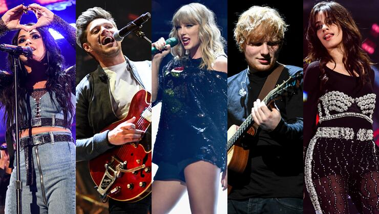 Taylor Swift Surprises Jingle Ball With Ed Sheeran More Highlights