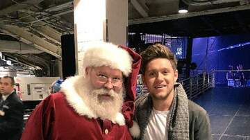 Holidays - Niall Horan Met Santa Claus and His Pure Joy Will Make Your Day