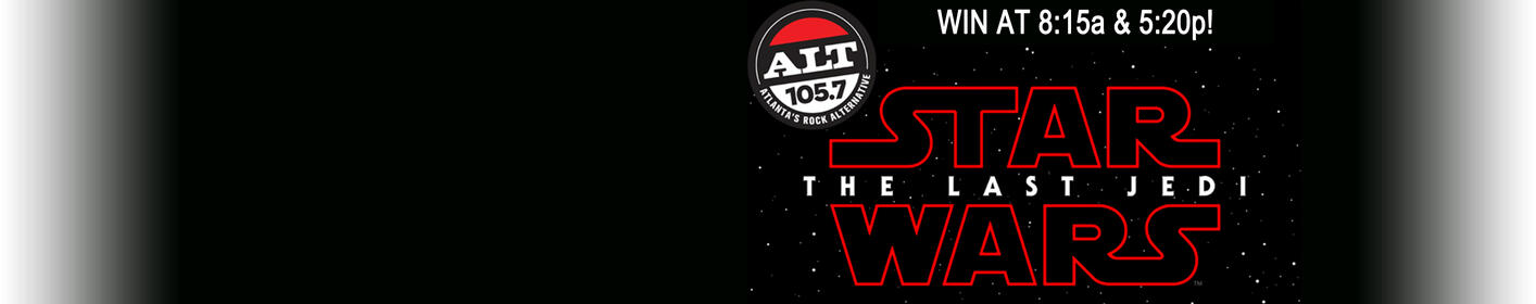 Wendy & Aly have your hook up on Star Wars:The Last Jedi
