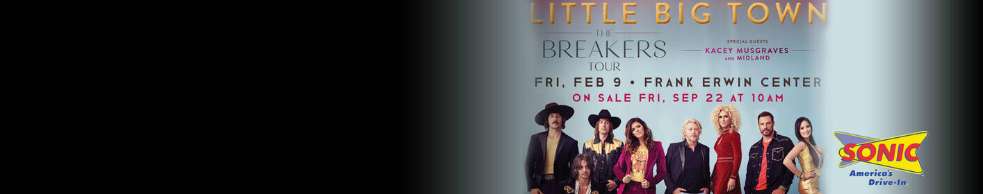 Win Tickets To Little Big Town And A $25 My Sonic Gift Card All Week At 12:10!