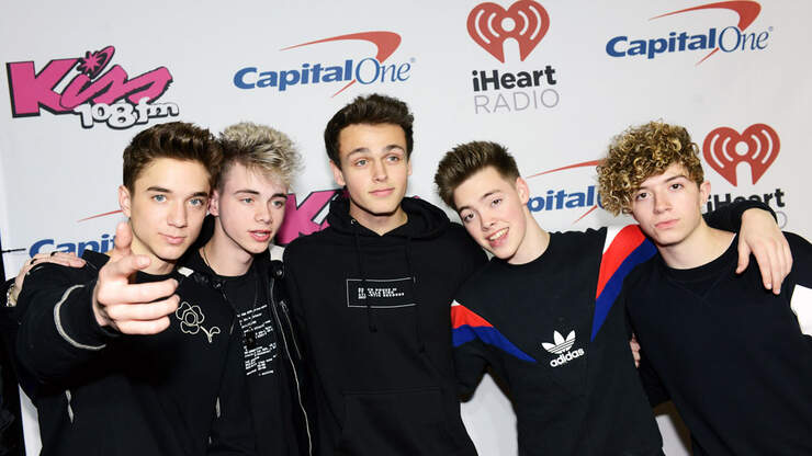 WATCH: Why Don't We Sing A Cappella Chubby Bunny Christmas Song | Kiss 108