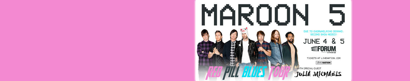 Enter for your chance to win tickets to see Maroon 5!