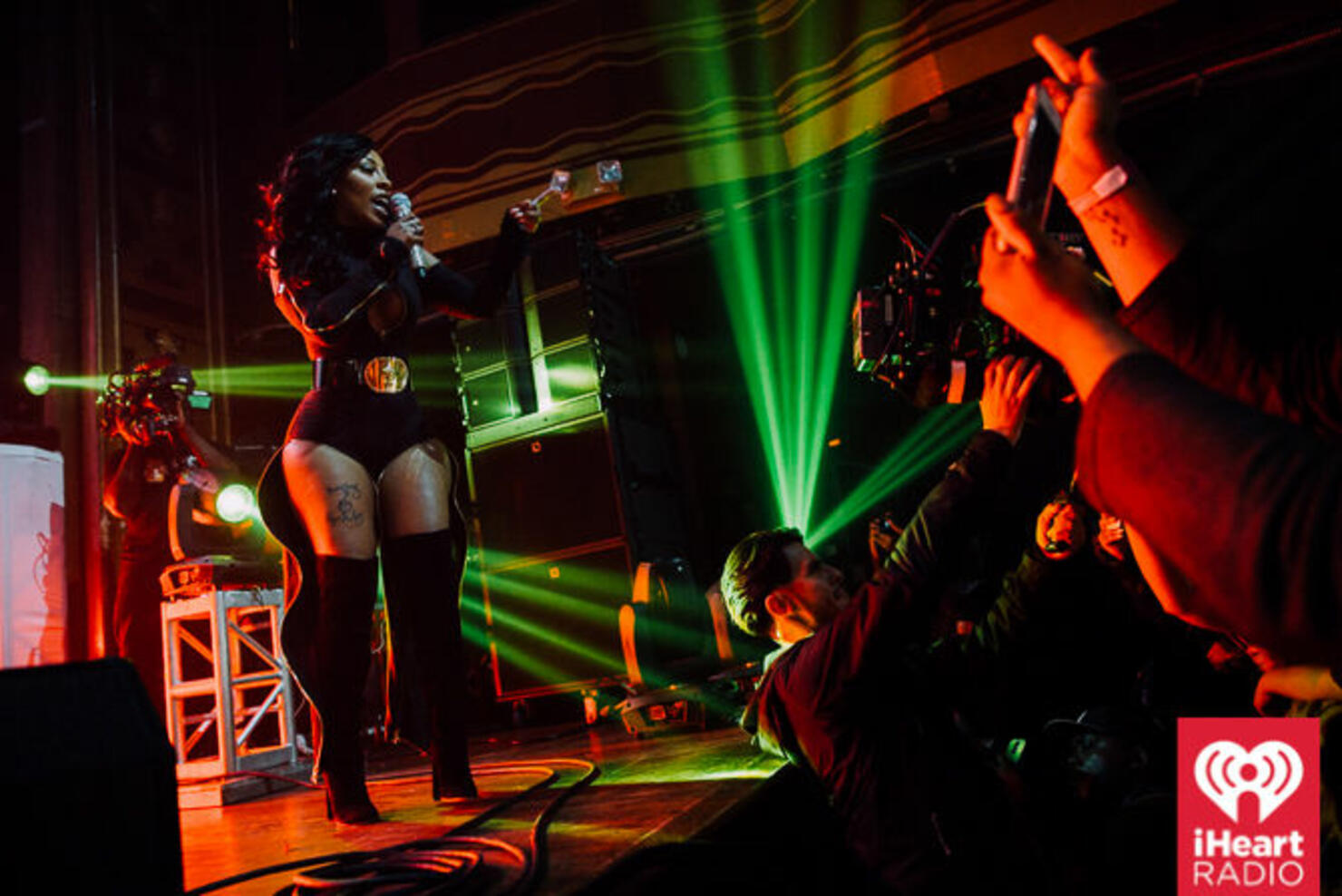 K. Michelle plays a sold out show at Webster Hall in NYC on March 29, 2016.