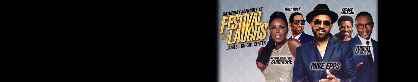 Win tickets to the Festival of Laughs!