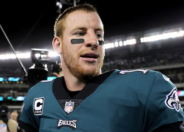 Carson Wentz - Getty Images