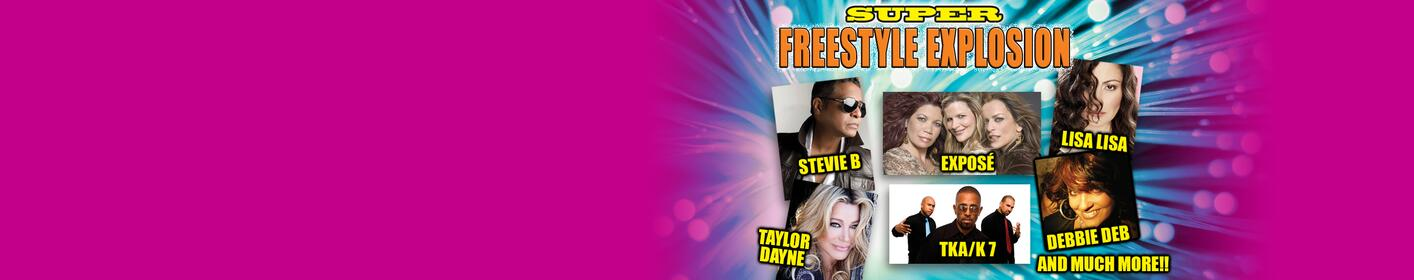 Win tickets to the Super Freestyle Explosion 3/10 @ the Wastco Center!