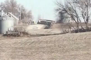 UPDATED Child and driver killed in western Iowa school bus fire