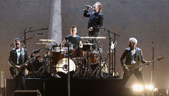 U2 Becomes Only Band With No  1 Albums in Four Consecutive