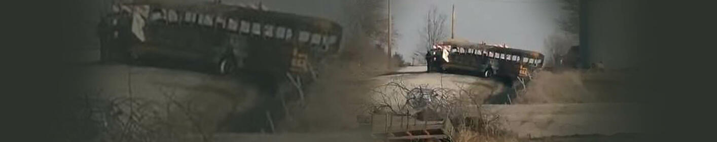 Child and driver killed in Iowa school bus fire